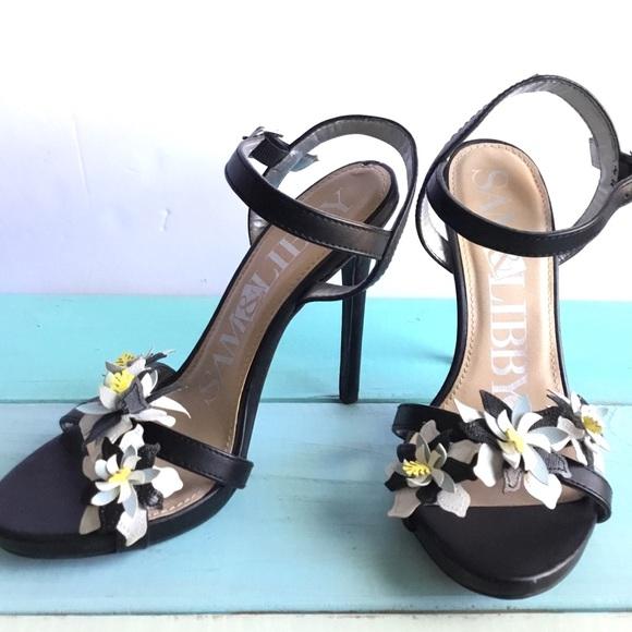 92754d6c10c Black Floral Coco Heels